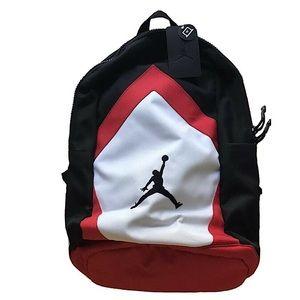 Nike Jordan Diamond Jumpman Blk/Red/Wht Backpack